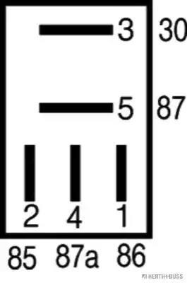 75613193 - Rele, työvirta