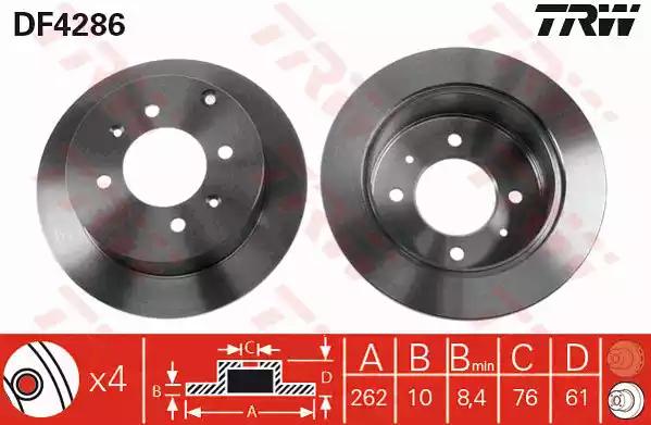 DF4286 - Brake Disc