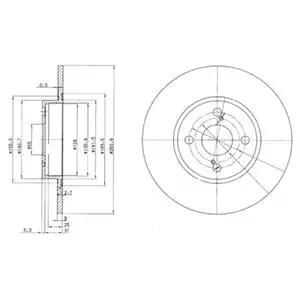 BG3186 - Brake Disc