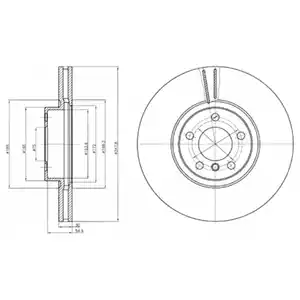 BG9063 - Brake Disc