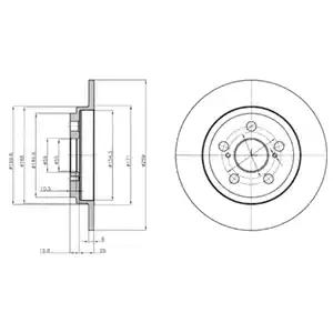 BG4272 - Brake Disc