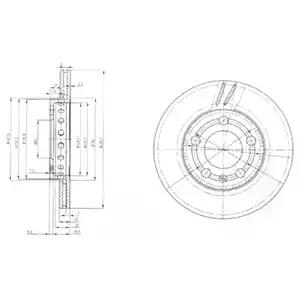 BG3695 - Brake Disc