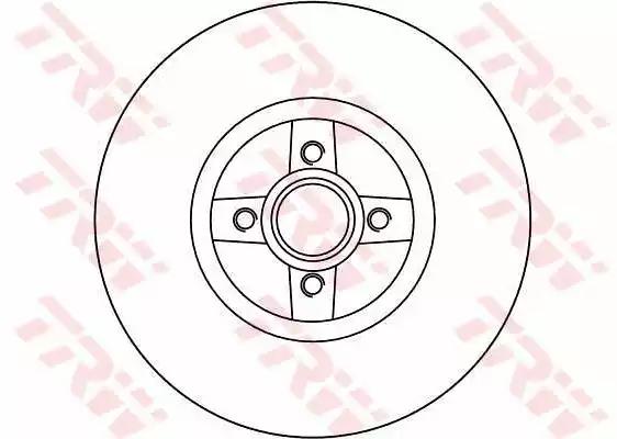 DF4272 - Bromsskiva