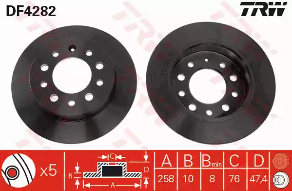 DF4282 - Brake Disc