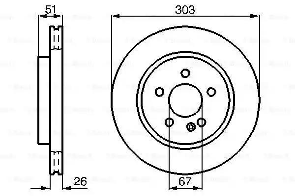 0 986 478 468 - Brake Disc