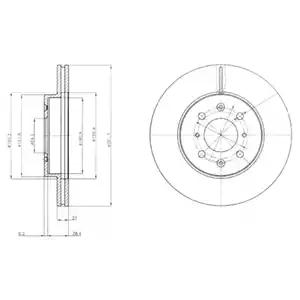 BG2759 - Brake Disc