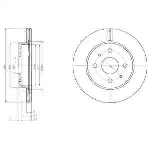 BG4128 - Brake Disc