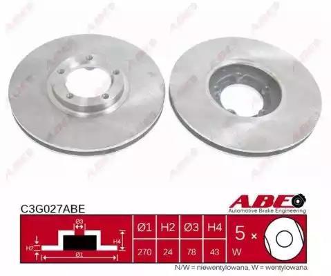 C3G027ABE - Brake Disc