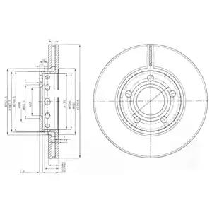 BG2518 - Brake Disc