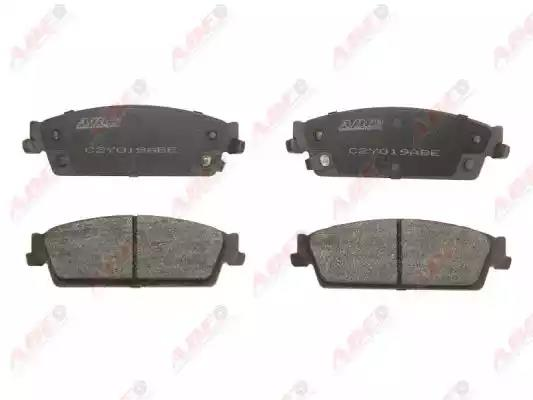 C2Y019ABE - Brake Pad Set, disc brake