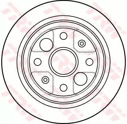 DF4004 - Brake Disc