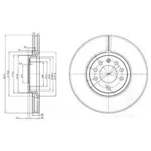 BG3973 - Brake Disc