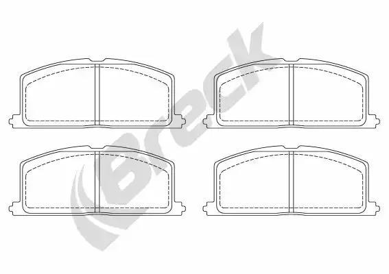 20870 00 701 10 - Brake Pad Set, disc brake