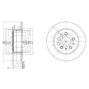 BG2103 - Brake Disc