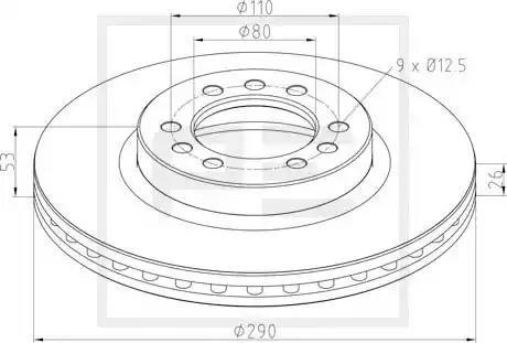026.672-10A - Brake Disc