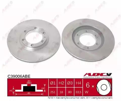 C39006ABE - Brake Disc