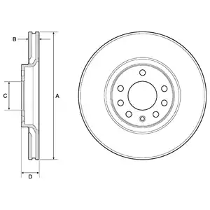BG3770 - Brake Disc