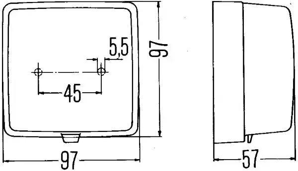 2ZR 003 315-041 - Reverse Light