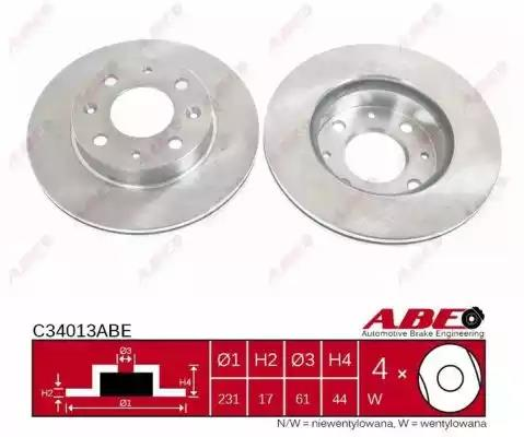 C34013ABE - Brake Disc