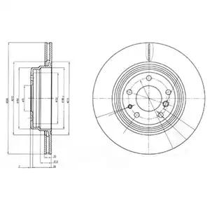 BG3213 - Brake Disc
