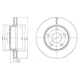 BG4259 - Brake Disc
