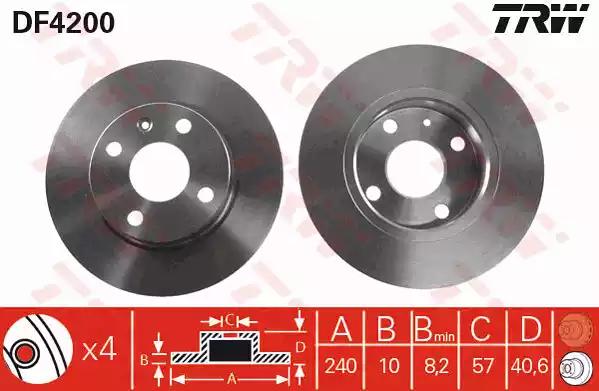 DF4200 - Brake Disc