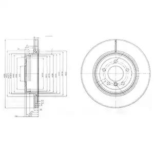 BG3961 - Brake Disc