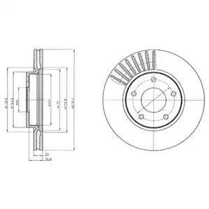 BG4282 - Brake Disc