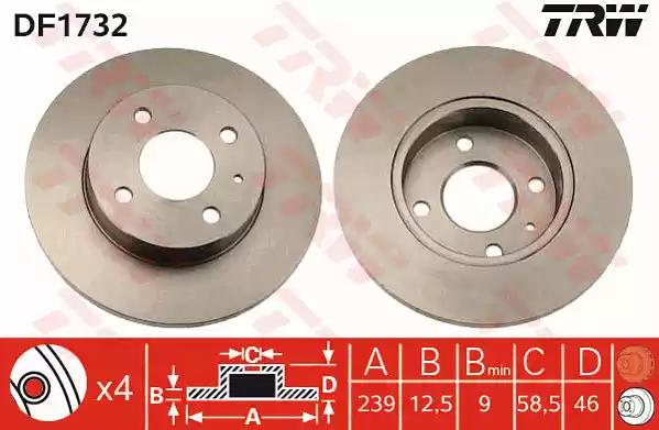 DF1732 - Brake Disc