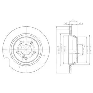 BG3725 - Brake Disc