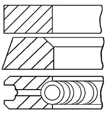 08-152700-00 - Piston Ring Kit
