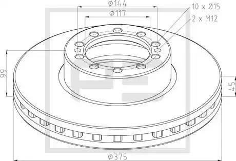 106.204-00A - Brake Disc