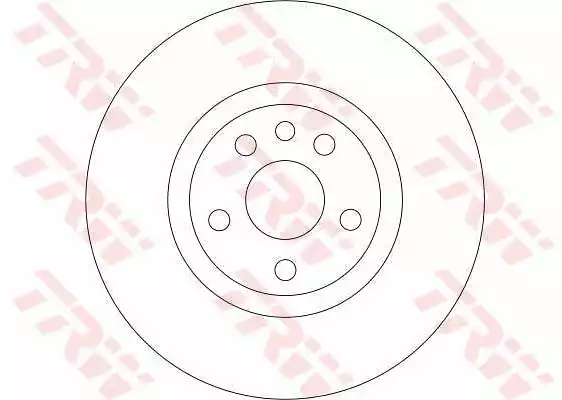 DF4257 - Brake Disc