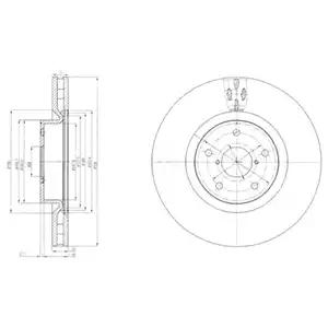 BG9055 - Brake Disc