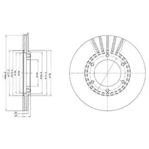 BG2365 - Brake Disc