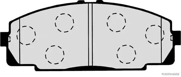 J3602083 - Brake Pad Set, disc brake
