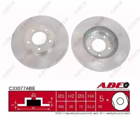 C33077ABE - Brake Disc