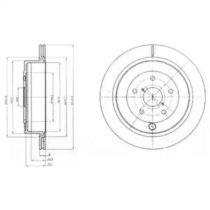 BG4267 - Brake Disc