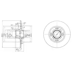 BG3360 - Brake Disc