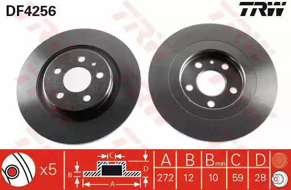 DF4256 - Brake Disc