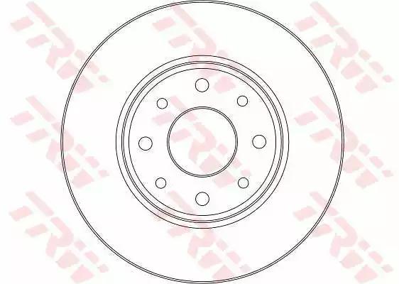 DF4375 - Brake Disc