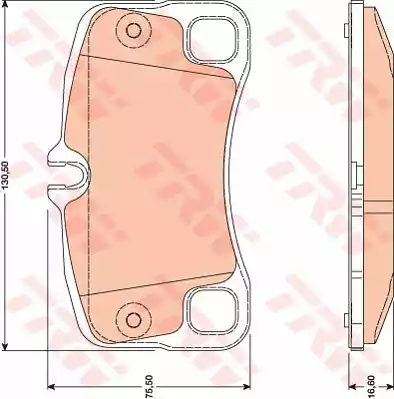 GDB1792 - Brake Pad Set, disc brake