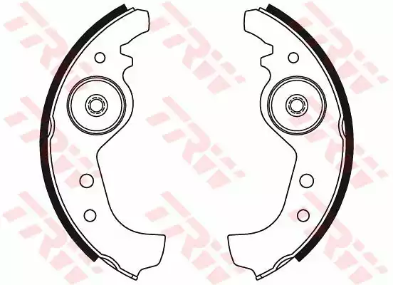 GS8160 - Brake Shoe Set