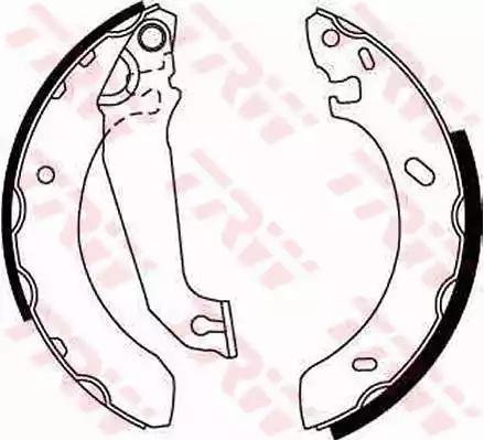GS6254 - Brake Shoe Set