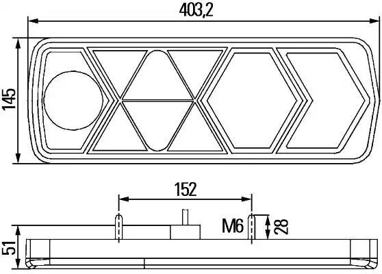 2VP 340 950-011 - Tagatuli