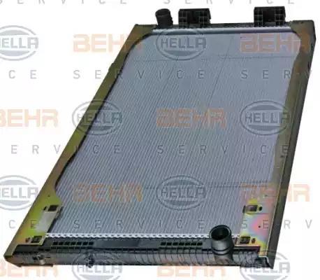 8MK 376 721-461 - Radiaator, mootorijahutus