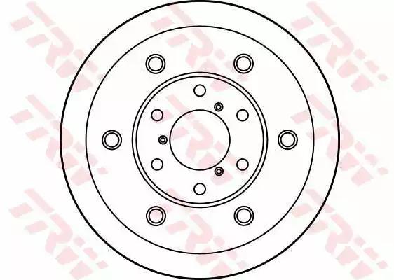 DF1726S - Brake Disc