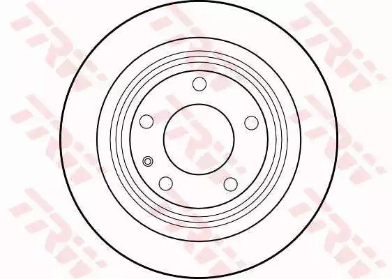 DF1592 - Brake Disc