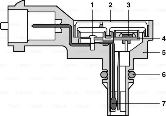 0 281 002 593 - Andur, kompressorirõhk