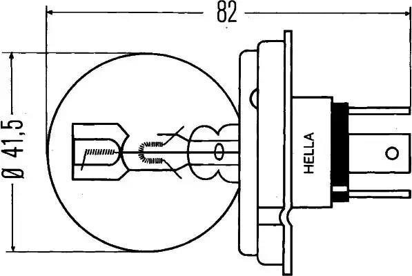 8GD 002 088-251 - Glödlampa